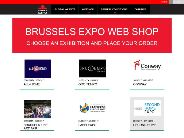 B2B e-Commerce Site for Event Venues